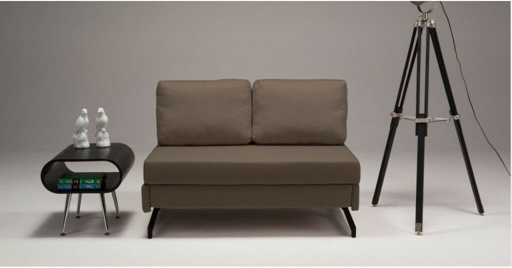 Motti Armless Sofa Bed From Made In Grouse Brown