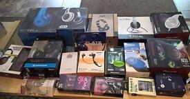 Top Brand Headphone Sennheiser Beats Focal SMS street by 50 Pioneer JVC, Gibson Razer iPhone Samsung