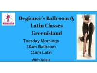Beginners Ballroom & Latin Dance Classes - Greenisland - Tues mornings from 22nd May 2018