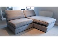 IKEA KIVIK TWO SEAT MODULAR SOFA FOR SALE
