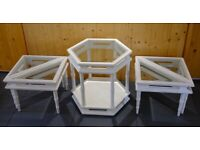 Whitewashed Solid Ash Coffee table set