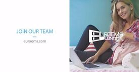 Freelance Marketing Agent - No experience required – Work from home - Immediate start | Eurooms Ltd.