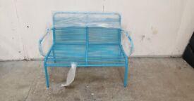 Blue Garden Bench No220204
