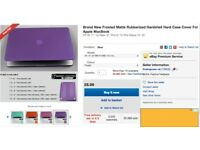 "Hard Purple Case for MacBook Air 13"" - BRAND NEW!"