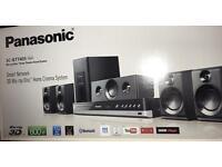 NEW PANASONIC 600W 5.1 SMART 3D BLU RAY HOME CINEMA SYSTEM