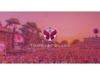 2 Tomorrowland All in One tickets