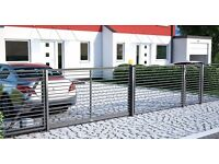 Fencing Systems, Fence, Gate, Wicket, for home and for industry, steel fencing