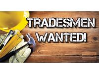 Wanted Plumber, Electrician & Decorator