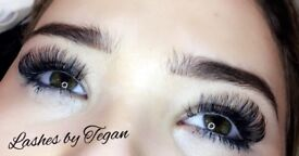 Russian Volume lashes,Individual Eyelash Extensions, Sienna X Spray Tand