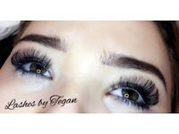 Russian Volume lashes,Individual Eyelash Extensions, Sienna X Spray Tand
