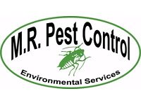 M.R Pest Control Environmental Services is a family run business established in 1997.