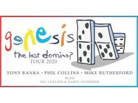 "Genesis ""The last domino"" tour tickets, M&S arena"