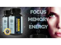 GenBrain Advanced Brain Formula FOCUS | MEMORY | ENERGY