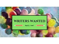 Weekly Writers Wanted