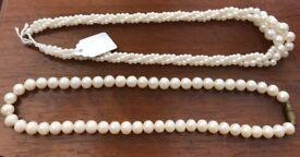 Costume Jewellery Pearls
