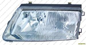 Head Lamp Driver Side With Bulb (Old Style) High Quality Volkswagen Passat 1998-2001