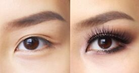 Volunteers Free Semi Permanent Eye Lash Extensions using Flawless Lashes by Loreta products