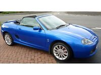 MG TF 135 Beautiful Blue Convertible with Low Mileage