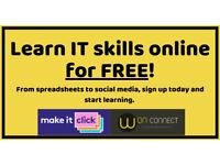Learn computer skills online for free. From spreadsheet, social media to computer security.