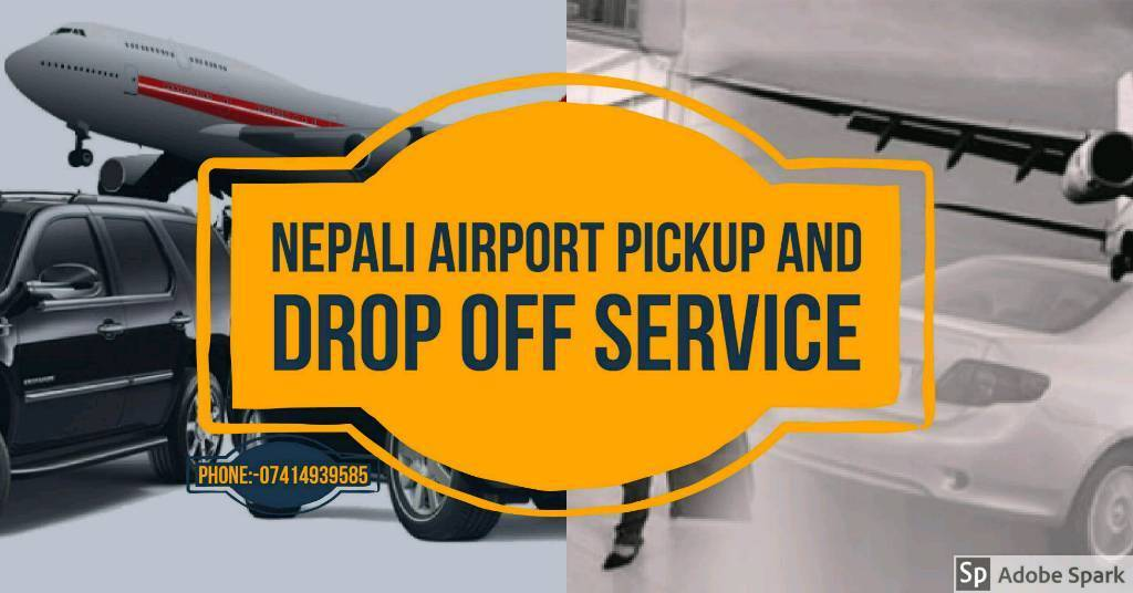 Airport pickup and drop off service
