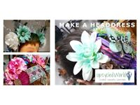 Make A Headdress – Learn how to upcycle!