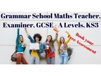 Grammar School Teacher Maths Tutor Stanmore 11 plus tutor Stanmore GCSE Maths tutor stanmore