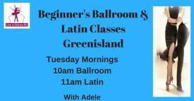 Beginners Ballroom & Latin Dance Classes - Greenisland - Tues mornings from 22nd May 2018
