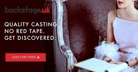 Actors and Performers wanted for new castings