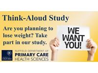 Participants wanted for paid think-aloud study