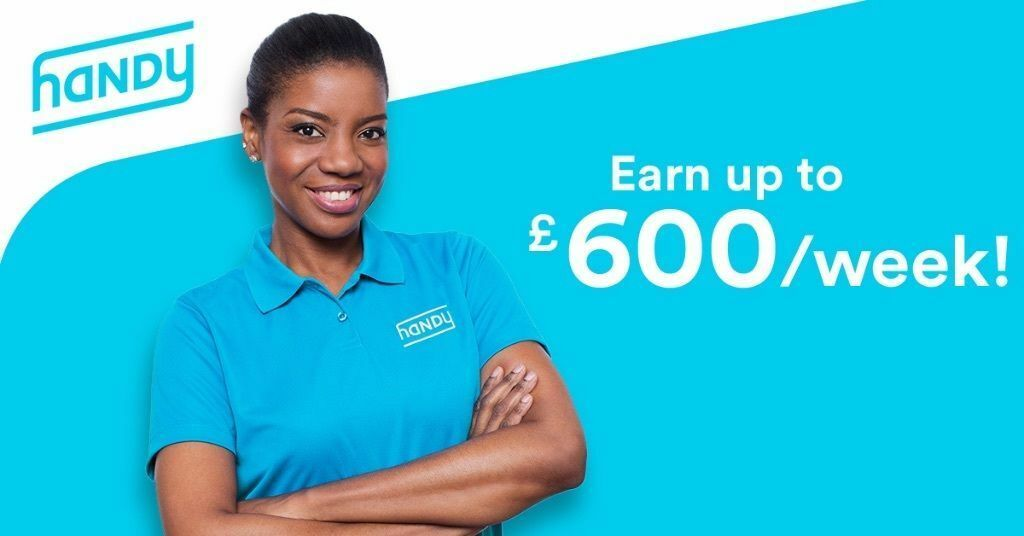 Handy domestic cleaners wanted! Earn up to £600 per week. All London locations.