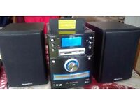 iSymphony DAB CD MP3 USB SD IPOD HiFi Stereo System + Remote control *50W RMS*
