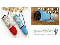 Yoga Mat Bag Sewing Class - 10:00-13:00, 16 June, Edinburgh, Contact us to book your ticket!