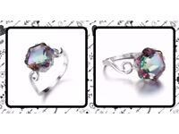 Beautiful Boho Rings & Jewellery - High Quality Sterling Silver - Free Ring Box