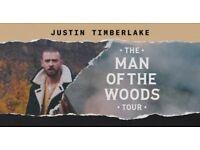 X2 Justin Timberlake 2018 VIP Tickets London 02 July 9th 2018