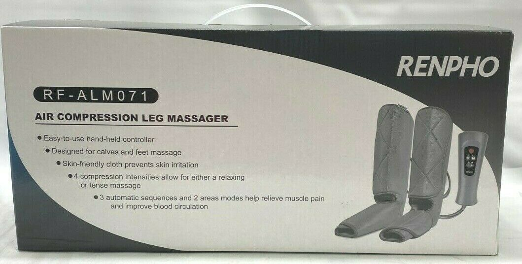 leg compression massager for circulation and relaxation