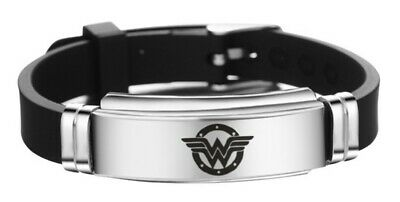 Wonder Woman Logo Metall Silikonarmband ()