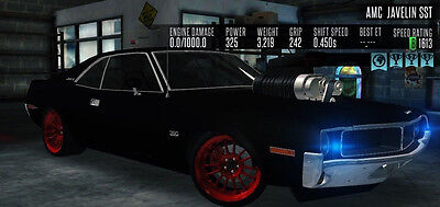Racing Rivals 1970 Amc Javelin Sst Ready For Turf Cheap