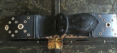 Ремень Betsey Johnson Black Belt Size