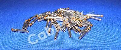 M39029/63-368 CONTACTS, D-SUB, 100 PER PACK, FACTORY NEW