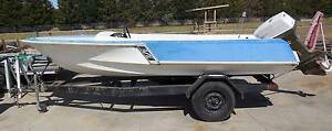 SAVAGE JAVELIN PROJECT BOAT WITH TRAILER Greenvale Hume Area Preview