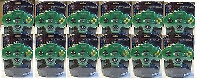 12 Lot Green Turbo Nintendo 64 N64 Controllers Made By To...