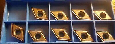 Ati Stellram Carbide Inserts - Dcgt11t304e-62 Dcgt32.51a62 Sp4019 9 Pcs