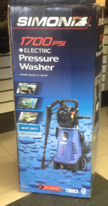 SOLD  --  SIMONIZ 1700psi electric pressure washer - complete