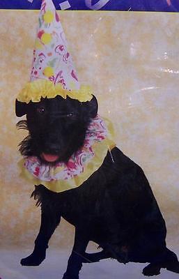 Clown Circus Animal Cute Dress Up Halloween Pet Dog Cat Costume