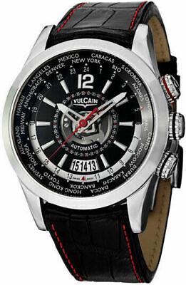 Vulcain Revolution GMT Men's 42mm Automatic World-Time Watch -