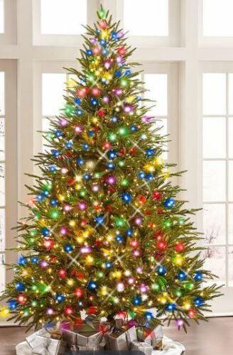 """Hammacher Schlemmer 4.5"""" Foot Fraser Fir Christmass Tree, Excellent Condition!"""