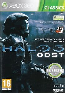NEW! Halo 3 ODST REGION FREE XBOX 360 SEALED NEW