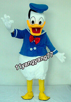 2019 Donald Duck Disney Character Cartoon Mascot Costume Adults Size Fancy Dress - Disney Character Fancy Dress Adults