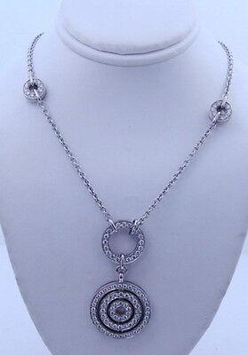 Ladies Designer Bulgari BVLGARI 18K White Gold Diamond Gold  Astrale  Necklace