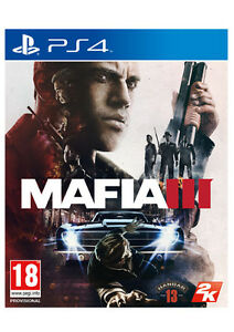 Selling Mafia III PlayStation 4 mint condition